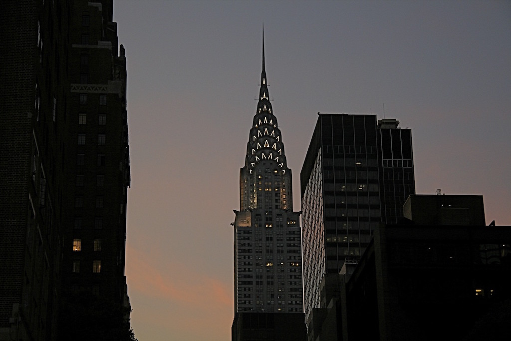 Chrysler Building at Dusk