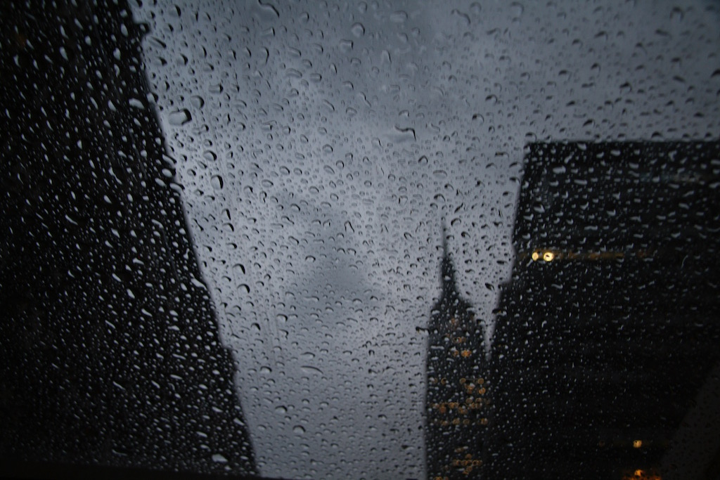 Chrysler Building in the Rain