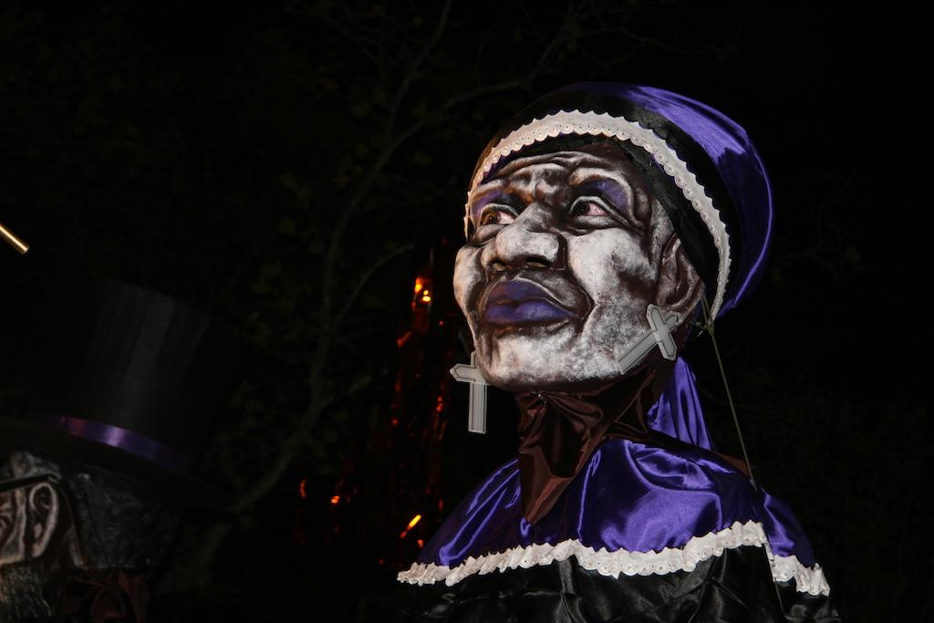 Halloween Parade Hatian Puppet