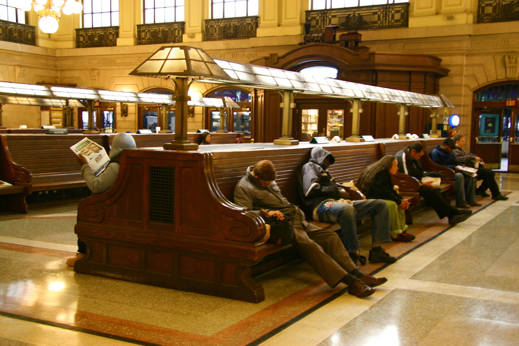 Hoboken Terminal Before Sandy