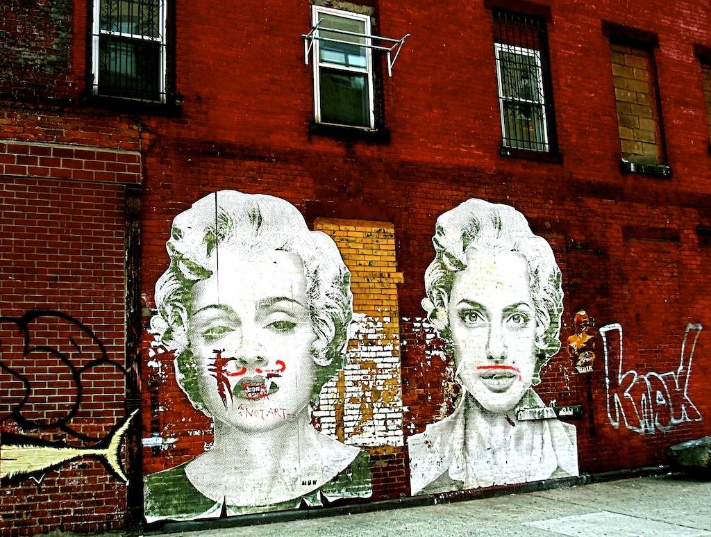 Imitating Marilyn