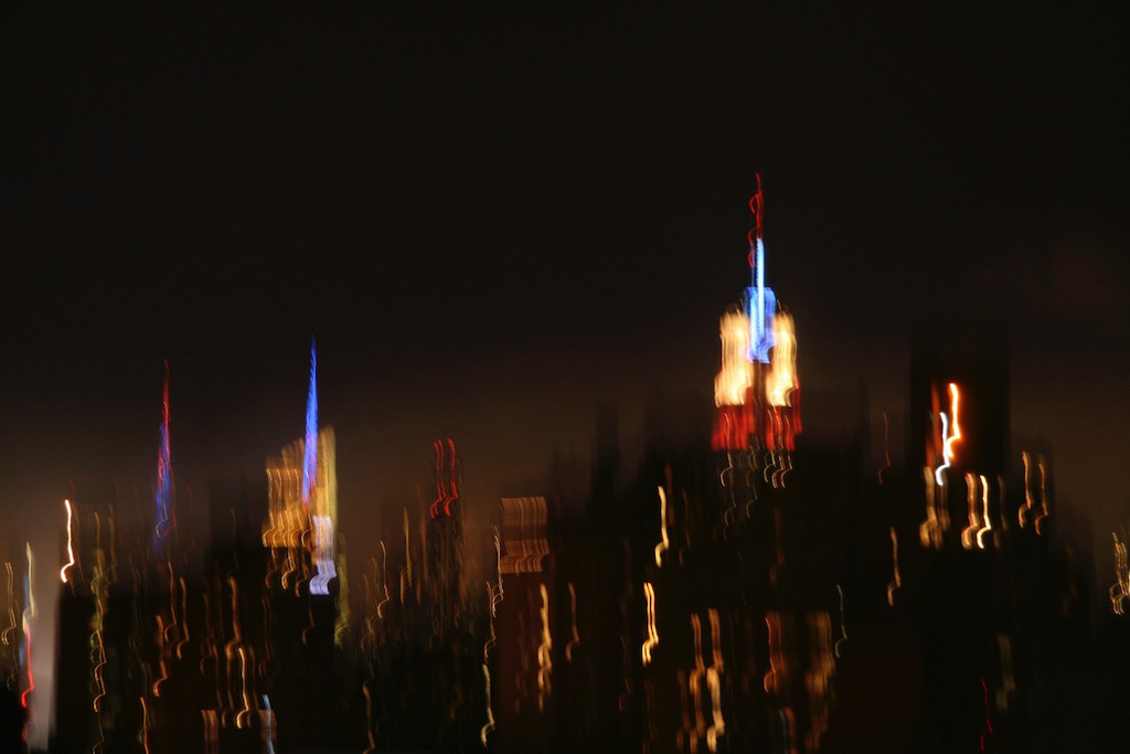 Manhattan Skyline July 4th