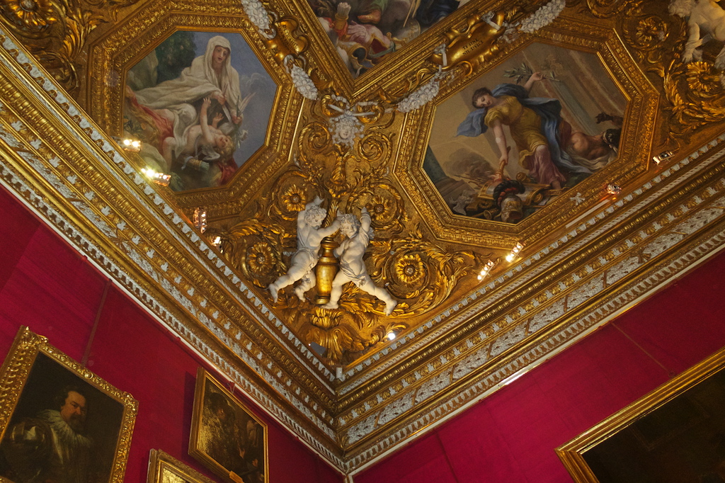 Uffizi Ceiling Detail