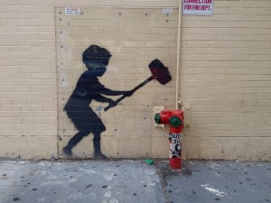 Banksy Was Here