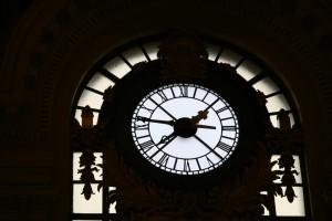Clock Inside Hoboken Terminal