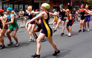 Dance Parade Swimmers