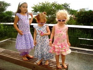 Little Girls on the High Line
