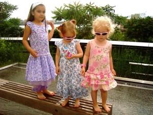 Little Girls on the High Line